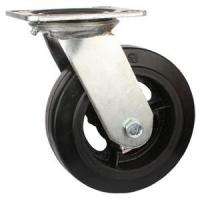 Quality Swivel Rubber With Iron Cast Wheel for sale