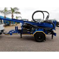 Buy cheap 200M Trailer mounted Water Well Drilling Rig with 89mm drilling pipes from wholesalers