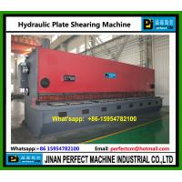Quality Hydraulic Guillotine Plate Shearing Machine for sale