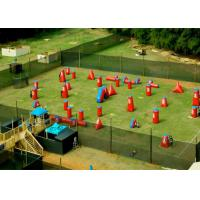 China Speedball Inflatable Psp Paintball Bunkers / Inflatable Games For Kids on sale