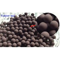 Quality 20MM Valves / Bearings Silicone Rubber Ball 70 Shore High Temprature Resistant for sale