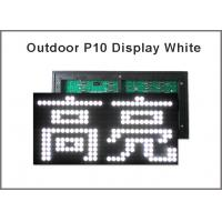 Quality Outdoor 320*160 P10 modules light LED panel displays light for shops advertising message for sale