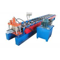 Quality PPGI Color Coated Sheet Making Machine Valley Design Size 6930*1310*1750mm Ridge Cap Roll Forming Machine for sale