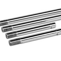 Quality High Polished Injection Molding Machine Tie Bar Nitriding Or Chrome Plated for sale