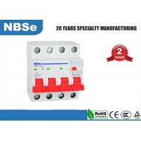 Quality Small Residual Current Circuit Breaker For AC Volt 4 Pole  63 Amp 30 MA for sale
