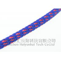Quality PET Multifilament Heat Shrinkable Braided Sleeving Lightweight High Strength for sale