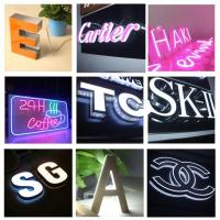 High Brightness Side Punching Signage Bespoke Illuminated Sign Letters