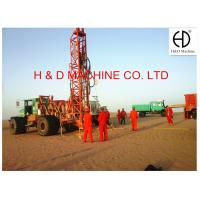 Quality HD-T400 Truck Mounted Integrated Multifunctional Drilling Rig for sale