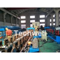 China 18 forming stations Auto Changeover Cable Tray Roll Forming Machine with PLC Electrical Control on sale