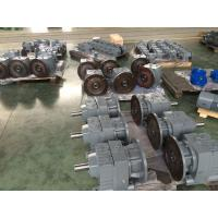 Quality Hydraulic Industrial Helical Geared Motor With IEC / NEMA Flange for sale