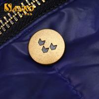 Buy customized zinc alloy snap button in anti brass color in high quality at wholesale prices