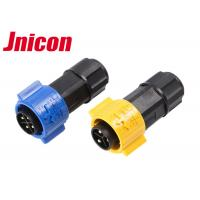 China Eco - Friendly Waterproof Wire Cable Connectors Electrical 3 Pole 4 Pole IP67 on sale