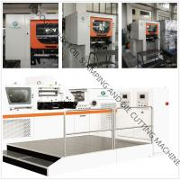 China EcooGraphix Post-press Automatic Foil Stamping Die Cutter on sale