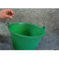 Quality 5 Gallon Metal Wire Handle , Plastic Bucket Handles With White Grips for sale