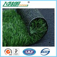 China Outdoor Football Filed Artificial Turf Grass With PP + NET Backing 3 / 8 Gauge on sale