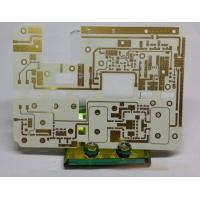 China High Frequency PCB circuits board Rogers RO4003C with Immersion gold and Quick turn pcb(PCBA) prototype Service on sale