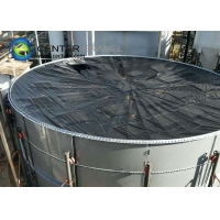 Quality Anti Corrosion Glass Fused Steel Tanks With 1500V Holiday Test for sale