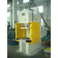 Quality PLC Drive Sheet Hydraulic C Type Power Press Machines with Large Capacity for sale