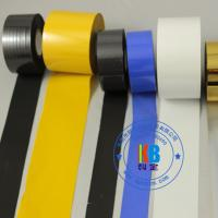 Quality PU PVC PET plastic label printing gold hot stamping foil on date coder machine for sale