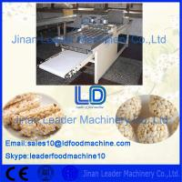Quality Food Grade Stainless Steel Automatic Nutrition Bar Product machinery/ Making machine for sale