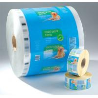 Quality PET laminated LDPE Printed Laminating Film Roll , Moisture Proof Good Barrier Plastic Film Rolls for sale