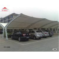 Buy cheap Flame Retardant Tensile Membrane Structures With Waterproof PVC Fabric from wholesalers