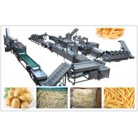 Automatic Stainless Steel Frozen French Fries Processing Machine With Low Price