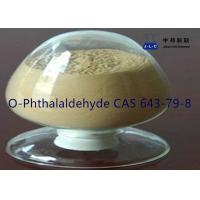 Quality Yellow Needle Crystal Pharmaceutical IntermediatesO-Phthalaldehyde  CAS 643-79-8 for sale