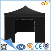 Quality Black 3x6 Pop up Gazebo Folding Tent Party Marquee Market Stall Outdoor Shade for sale