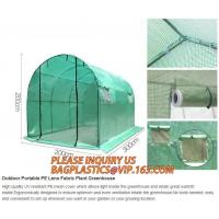 Quality pc aluminum garden green house,portable houses garden green house,China-made new design green house for agriculture/comm for sale