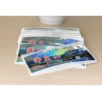 Quality Anti Dirty Security Hologram Stickers Multi Color For Attractions Tickets for sale