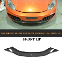 China Carbon Fiber Auto Front Spoiler for Mclaren MP4-12c Base Coupe 2-Door 11-14 on sale