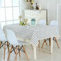 Quality Japanese style dining table cloth cotton for printing for sale