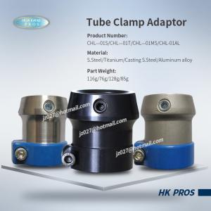 China Tube Clamp Adaptor  Stainless Steel/ Titanium/ Casting steel/ Aluminium  φ30mm on sale