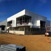 Quality Low Cost Modern Prefab Light Steel Frame Building for sale