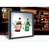 Quality Double Sided Magnetic Light Box Ceiling Hanging Led Sign Menu Board Low Light Failure for sale
