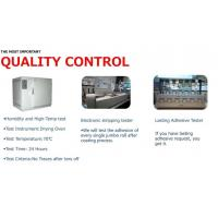 We have a series test to assure the high quality of our products