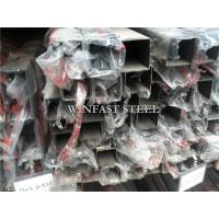 China ERW Welded Polished Stainless Steel Pipe SS Pipe for Security Window on sale