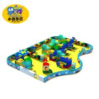 Quality Kids Games Soft Indoor Playground Equipment PVC Foam Wooden Material for sale