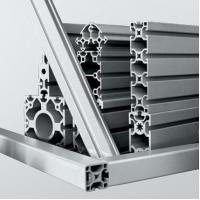 Quality Automated equipment anodized silver aluminum modular extrusion profiles for sale