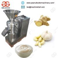Quality Ginger Garlic Paste Making Machine/Peanut Butter Making Machin/Tomato Paste Making Machine for sale