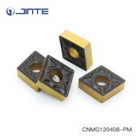 Quality ISO Square Carbide Inserts , Carbide Turning Tips Inserts CNMG120408 - PM for sale