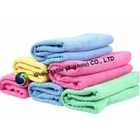 Quality Hand Drying Microfiber Household Cleaning Cloth for Cleaning , Ultra-strong Absorbency for sale