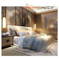 Quality Hardwood + Plywood Hotel Queen Size Furniture in Beds , Bedroom Set , Headboard for sale