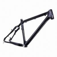 Quality 26er Carbon MTB Bicycle Frame with Clear Coating Finish for sale