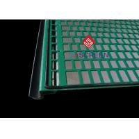 Quality FLC 500 Wave Typed Shale Shaker Screen 1050mm Length High Utilization Rate for sale