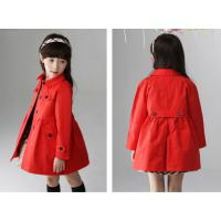 Quality free sample!new fashion clothing cambodia sex girls full size long winter coats for kids for sale