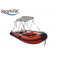 Quality Personal Hard Bottom Dinghy Boats / Rigid Floor Blow Up Boat Raft for sale
