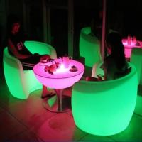 China Waterproof LED Bar Furniture , LED Bar Stools For Living Room / Garden on sale