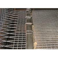 Quality Stainless Steel / Galvanized Crimped Wire Mesh Rectangular Opening for Pig Feeding for sale